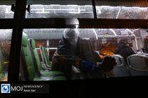 اتوبوسهای تهران هر شبانهروز حداقل ۴ نوبت ضد عفونی میشوند