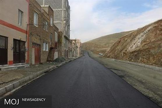 7 هزار متر مربع از خیابان آربابای شهرک مولوی در سنندج آسفالت شد