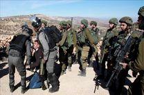 ارتش رژیم صهیونیستی ۱۵ فلسطینی را در کرانه باختری بازداشت کرد