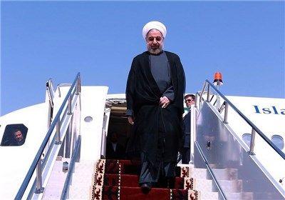 رئیس جمهور وارد تبریز شد
