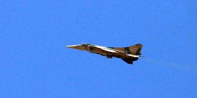 مواضع تروریست ها هدف جنگنده های سوریه قرار گرفت