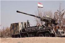 ساقط شدن ده ها موشک توسط پدافند ارتش سوریه