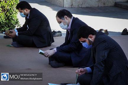 گلباران مزار شهدای حمله تروریستی به مجلس
