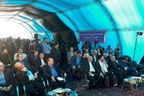 طرح آبرسانی پایانه مرزی چذابه با حضور وزیر نیرو افتتاح شد