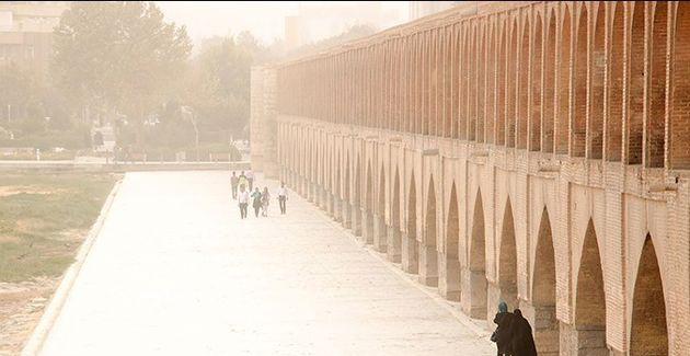 هوای اصفهان برای هفتمین روز متوالی ناسالم است