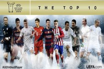 اعلام ۱۰ کاندیدای نهایی کسب عنوان بهترین بازیکن اروپا