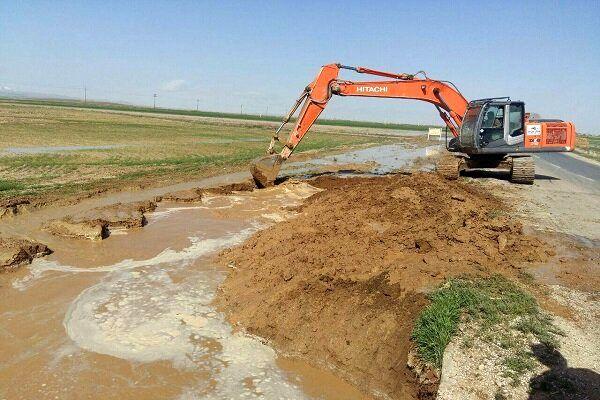 آغاز عملیات بازگشایی و ساماندهی رودخانه گلمغان اردبیل