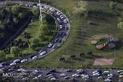 آخرین وضعیت ترافیکی بزرگراه های تهران در صبح روز 26 مرداد