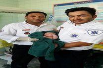 نوزاد عجول در آمبولانس ۱۱۵ فریمان متولد شد