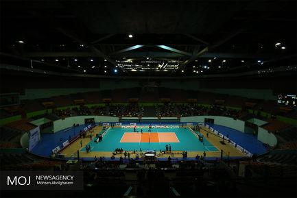 دومین دیدار تیم های والیبال شهرداری ورامین و سایپا