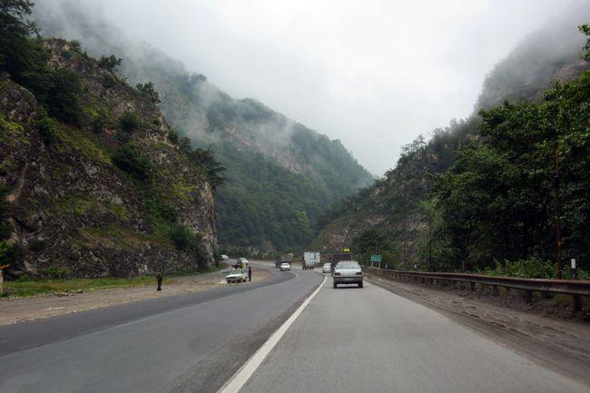 وضعیت ترافیکی جادههای هراز و فیروزکوه اعلام شد