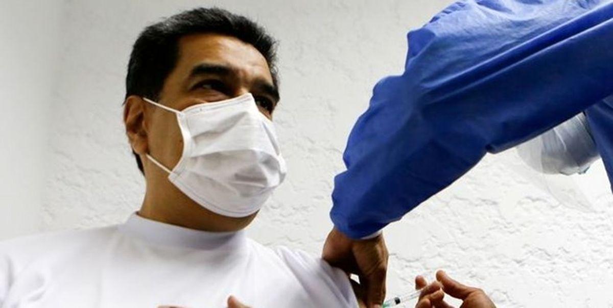 رئیسجمهور ونزوئلا و همسرش واکسن روسی کرونا تزریق کردند