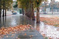 بارش شدید و آبگرفتگی در کرج