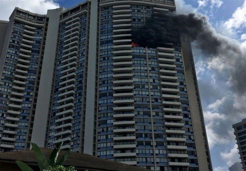 ۳ کشته در آتشسوزی برجی در هاوایی