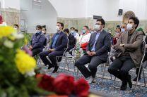 افتتاح خانه هلال و بانک تجهیزات پزشکی در بافق