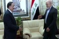 ایرج مسجدی با وزیر دفاع عراق دیدار کرد