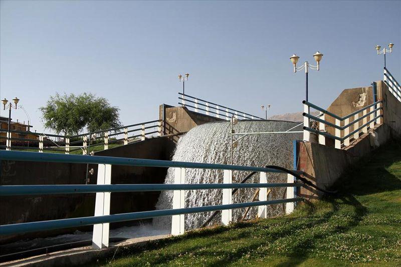 کاهش 71 درصد میزان آب چشمه لنگان اصفهان نسبت به مدت مشابه سال گذشته