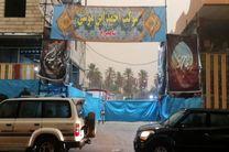 کربلا بارانی است؛ خدماتدهی موکب احمد بن موسی بر قوت خود باقی است