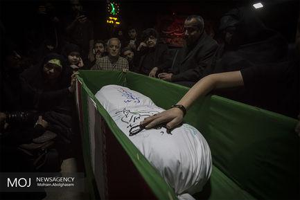 وداع با پیکر شهید حسن اسماعیلی پس از ۳۶ سال