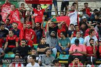 برد تیم تراکتور سازی تبریز برابر پرسپولیس در نیمه نخست