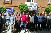 تجمع کارگران آبفای اهواز به دلیل تعویق حقوق ماهیانه