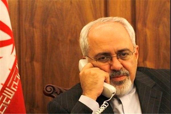 ظریف با همتای قزاقستانی گفتگو کرد