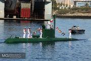 تحویل ۲ فروند زیردریایی غدیر به ناوگان دریایی نداجا
