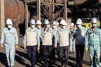 خداقوت مدیرعامل فولاد مبارکه به مجریان تعمیرات برنامهریزیشدۀ سالانۀ واحد گندلهسازی