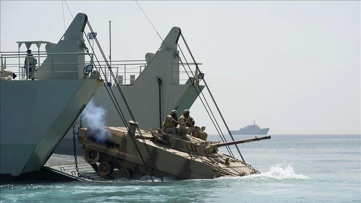 رزمایش مشترک نظامی آمریکا و عربستان سعودی برگزار شد