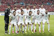 ارتقا جایگاه تیم ملی فوتبال ایران