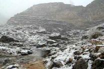 بارش برف در الوار گرمسیری بعد از 20 سال
