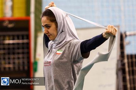 تمرین تیم ملی والیبال بانوان - ۳۱ اردیبهشت ۱۳۹۸