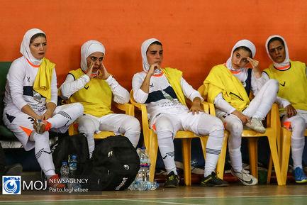 دیدار تیم های فوتسال بانوان رهیاب تهران و شهروند ساری