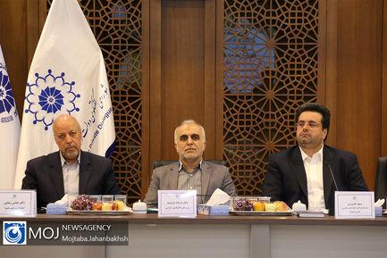 نشست وزیر اقتصاد با اعضای اتاق بازرگانی اصفهان