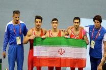مدال برنز تیم ملی ژیمناستیک ایران در باکو