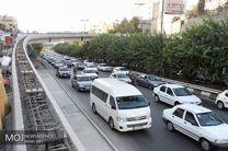 وضعیت ترافیکی بزرگراه های تهران در ۱۰ اسفند اعلام شد