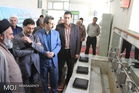 طرح اصلاح شیرآلات مصرفی مساجد شهرهای استان با حضور مسئولین آغاز شد
