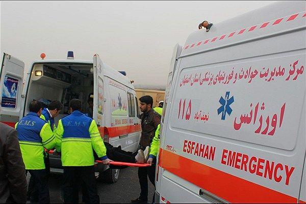 فهرست اسامی تعدادی مصدومان حادثه واژگونی اتوبوس دانش آموزان