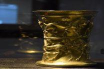 نمایش آثار باستانی تپه مارلیک در موزه رشت