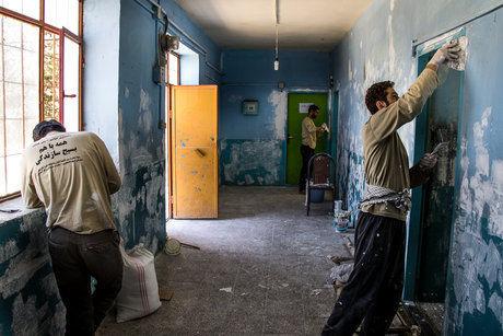 استارت نوسازی مدارس کرمانشاه برای مهرماه زده شد