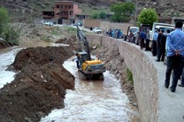 انهار و کانالها بهمنظور جلوگیری از آبگرفتگی به صورت مستمر لایروبی میشوند