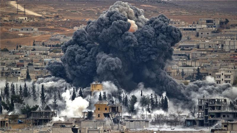 کشتار کودکان سوری به دست ائتلاف آمریکایی
