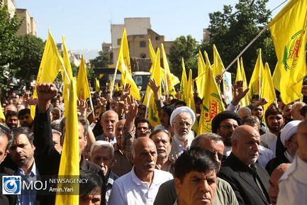 تشییع پیکر شهید مدافع حرم محمد جنتی
