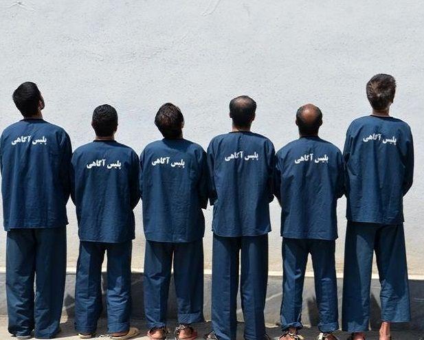 دستگیری 7 سارق حرفه ای در بندرعباس