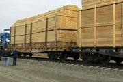 ورود دومین قطار باری روسی در بارانداز راه آهن آستارا