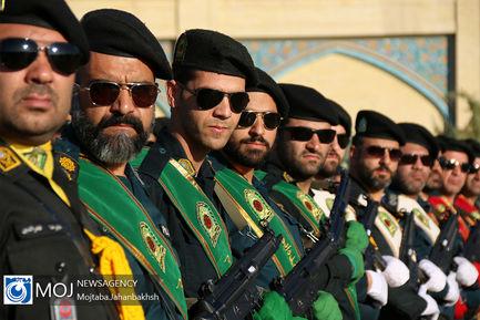صبحگاه مشترک فرماندهی نیروی انتظامی در اصفهان