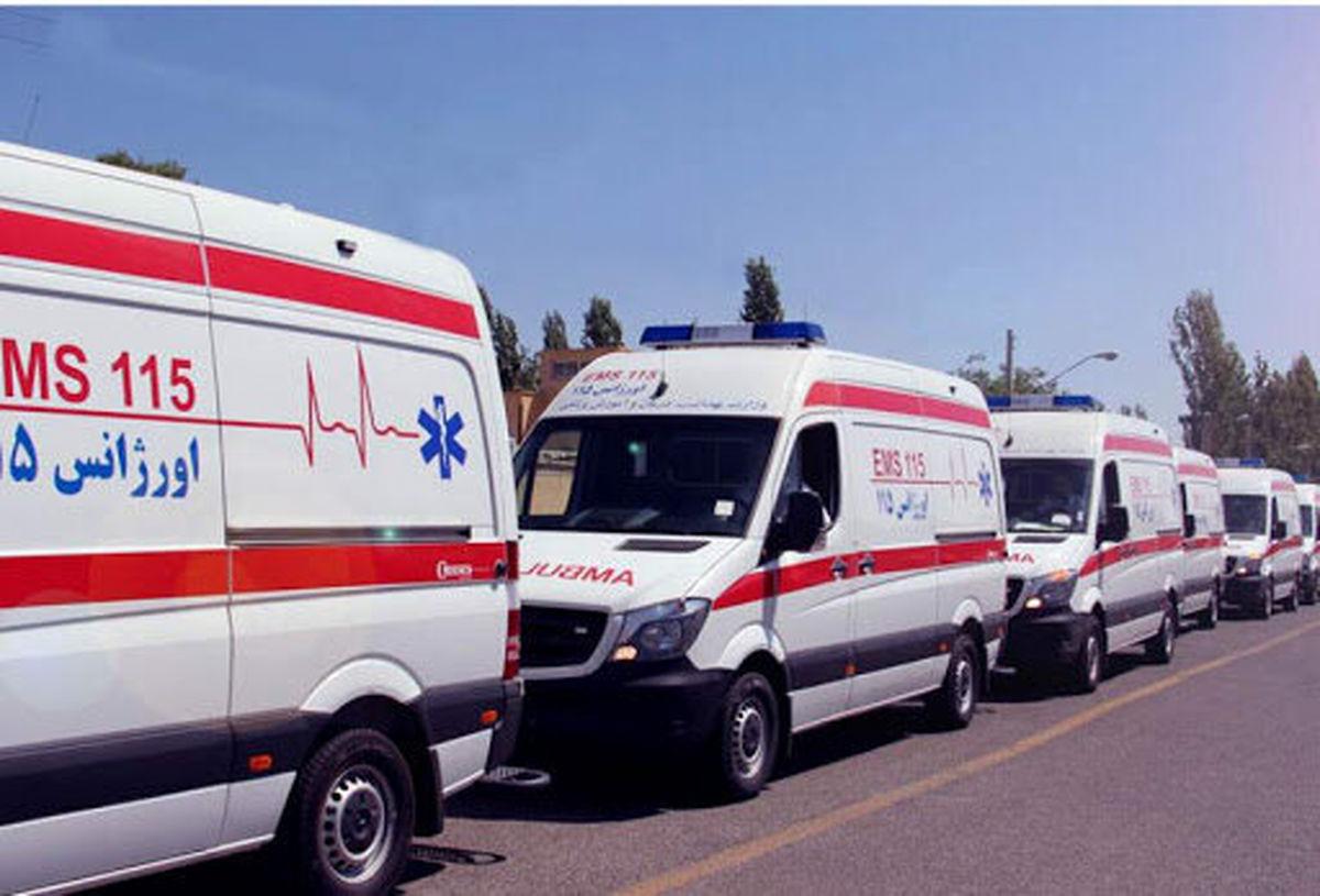 انجام بیش از 2000 ماموریت امدادی توسط نیروهای اورژانس 115