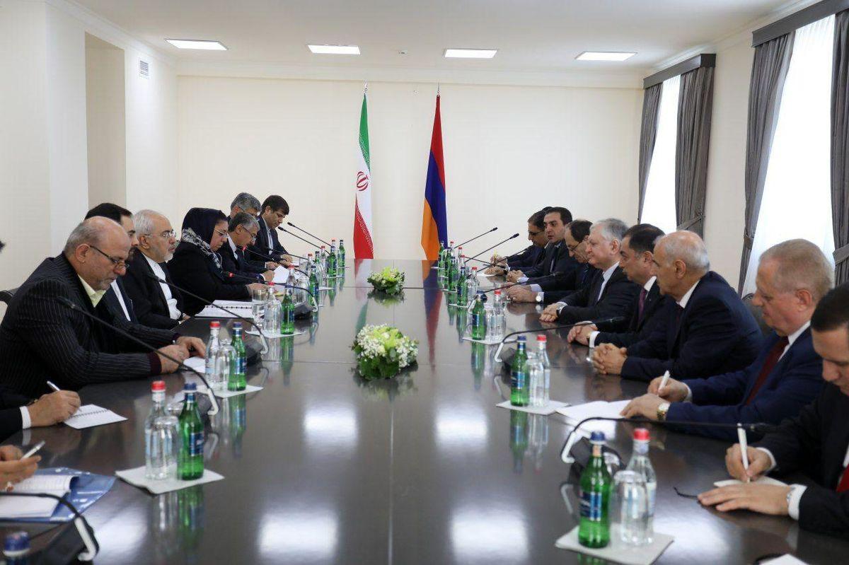 دور دوم گفتگوهای وزرای امور خارجه ایران و ارمنستان آغاز شد