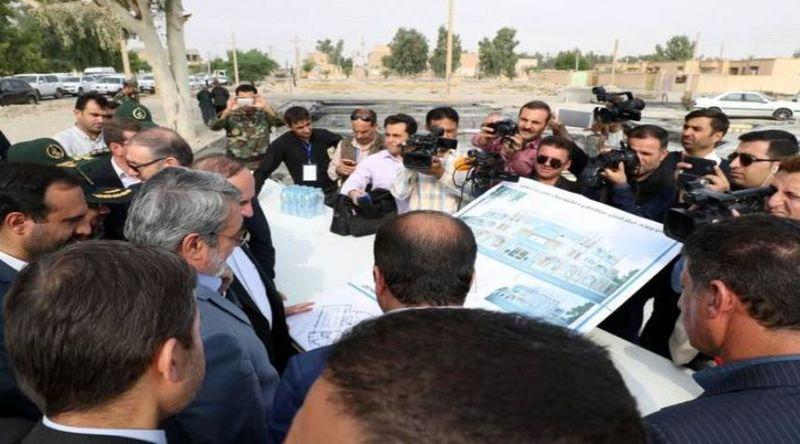 وزیر کشور عراق از مرز مهران بازدید کرد
