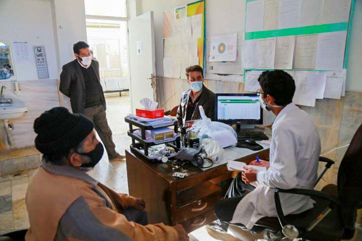 بازدید فرماندار بافق از مرکز خدمات جامع سلامت روستای بساب
